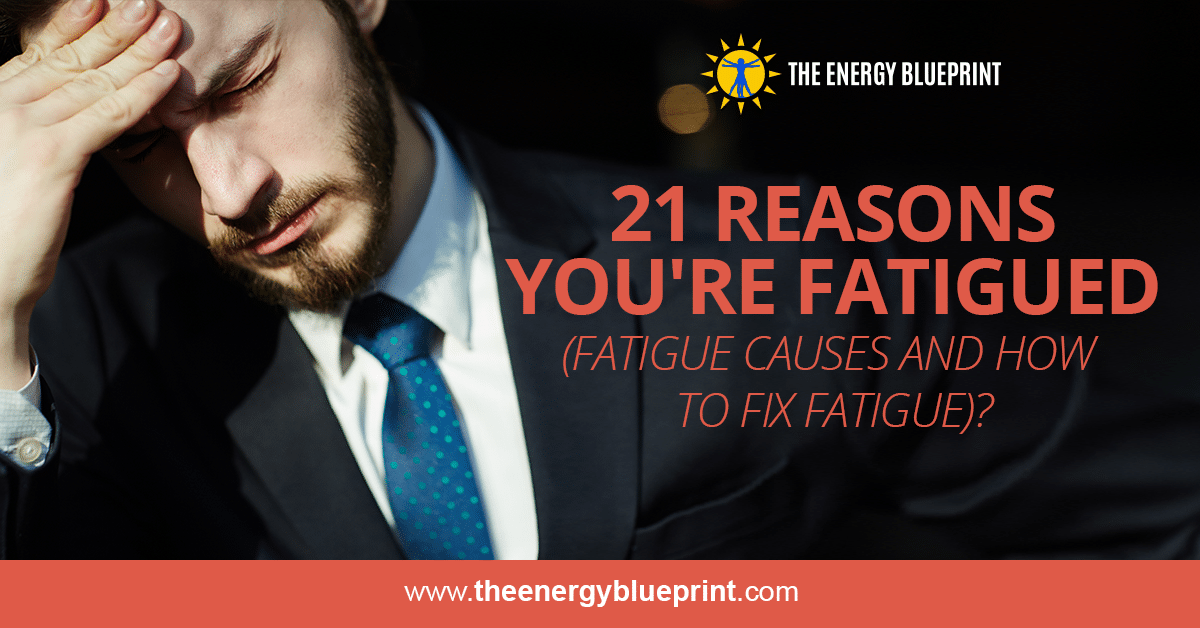 21 Reasons You're Fatigued (Fatigue Causes And How To Fix Fatigue), theenergyblueprint.com