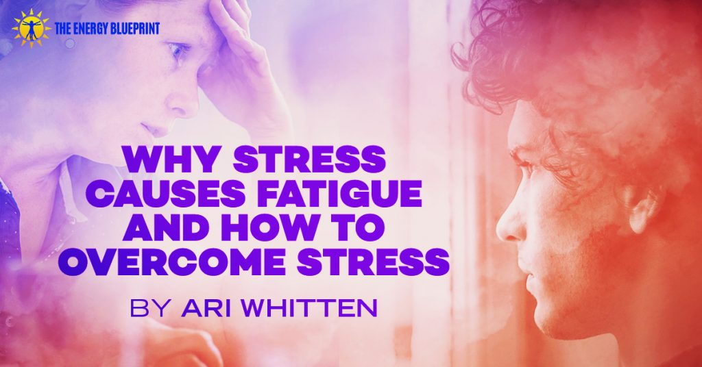 Why Stress Causes Fatigue And How To overcome stress Cover Image │ Why Stress Causes Fatigue And How To Overcome Stress, www.theenergyblueprint.com