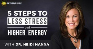 Stress Management – 5 Steps to Lower Stress and Higher Energy with Dr. Heidi Hanna