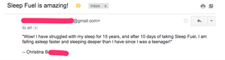Review of sleep fuel the top supplement for deep sleep │ The Top 12 Natural sleep supplements, www.theenergyblueprint.com