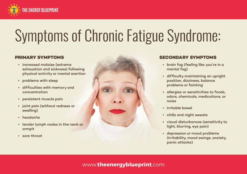 Symptoms of Chronic Fatigue │Ia Adrenal Fatigue Real? Theenergyblueprint.com