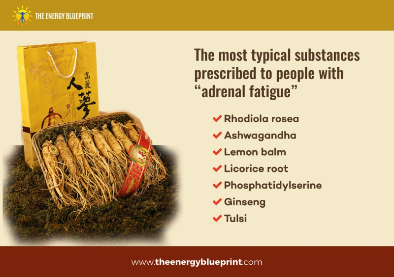 The Most Typical Substances Prescribed to People with adrenal fatigue │ Is adrenal fatigue real? theenergyblueprint.com