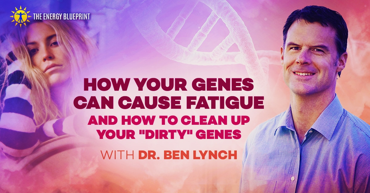 How Your Genes Causes Fatigue And How To Clean Up Your Dirty Genes with Dr. Ben Lynch, www.theenergyblueprint.com