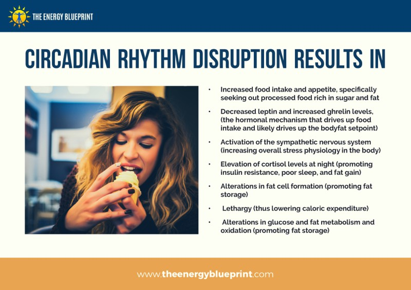 Circadian Rhythm Disruption Results in - Why am I so tired, theenergyblueprint.com