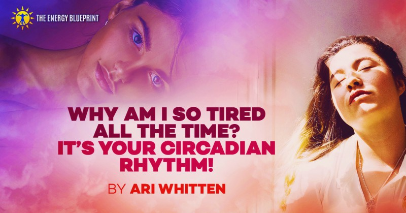Why Am I So Tired All The TIme - It Is Your Circadian Rhtyhm - Cover Image │ Why am I so tired, theenergyblueprint.com