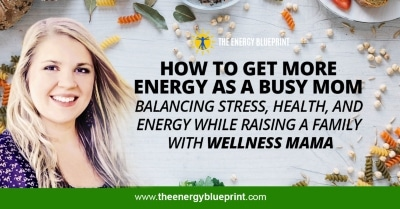 How To Get More Energy As A Busy Mom │ Balancing Stress, Health, And Energy While Raising A Family With Wellness Mama FB 4 natural lifestyle hacks to fix behavioral issues and mental illness in children (and manage your energy as a parent) with Dr. Nicole Beurkens, PhD, theenergyblueprint.com