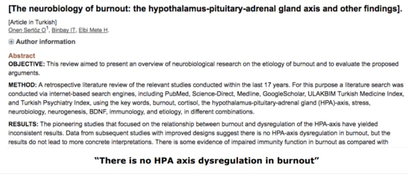 """Study 2 -The neurobiology of burnout the hypothalamus-pituitary-adrenal gland axis and other findings │ The Hidden Truth About What Causes Low Cortisol Levels (The Real Causes of """"Adrenal Fatigue"""") – Plus Secrets of Healing """"Adrenal Fatigue"""", and How To Treat """"Adrenal Fatigue"""" The Right Way │ low cortisol levels │ Adrenal fatigue treatment │ what causes adrenal fatigue │How to cure adrenal fatigue, theenergyblueprint.com"""