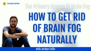 The Primary Causes Of Brain Fog And How To Get Rid Of Brain Fog Naturally with Jordan Fallis Cover