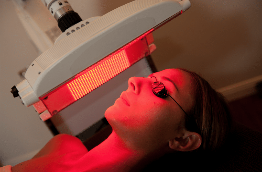 how to use red light therapy