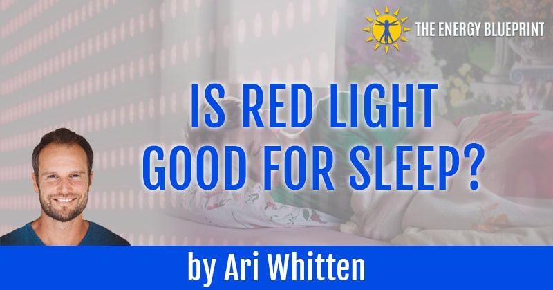 Sleep and Red Light Therapy