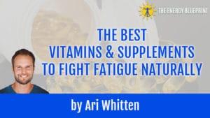 Vitamins for Fatigue