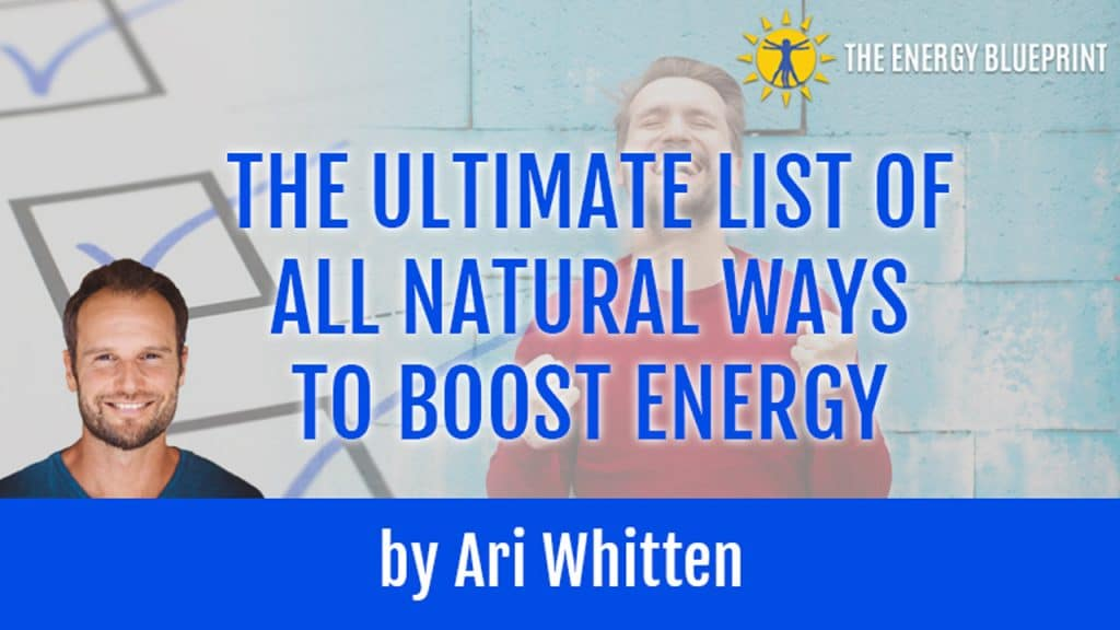 Ultimate List of Energy Boosters